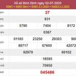 Phân tích XSBDI 9/7/2020 chốt KQXS Bình Định thứ 5