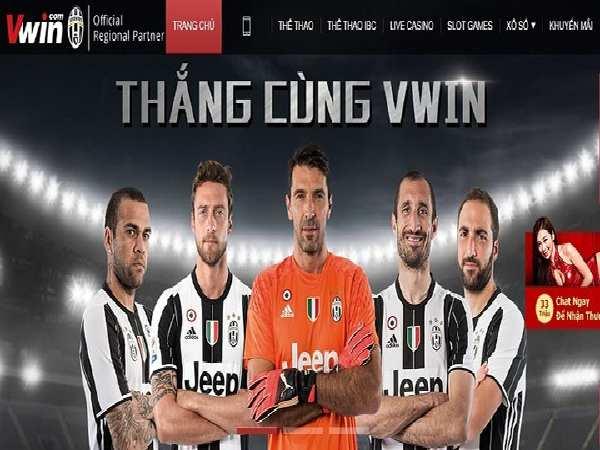Tỷ lệ cá cược bóng đá trực tuyến của Vwin Sports rất hấp dẫn